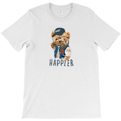 Happier T-shirt Designed By Disgus_thing
