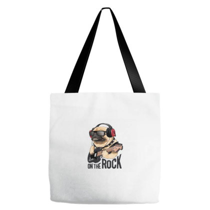 Rock Tote Bags Designed By Disgus_thing