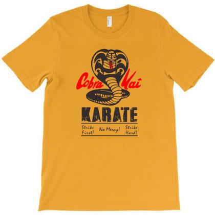 Cobra Kai Karate T-shirt Designed By Kiva27