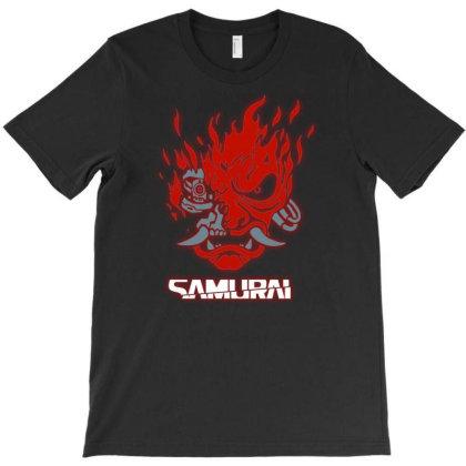 Cyberpunk Samurai T-shirt Designed By Kiva27