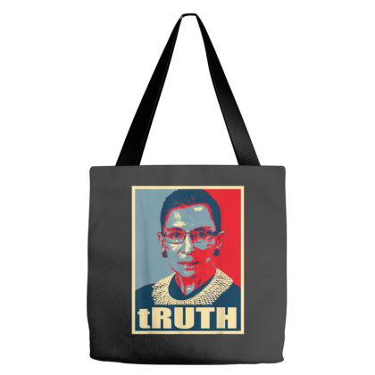 Notorious Rbg Ruth Bader Ginsburg Truth Tote Bags Designed By Kakashop