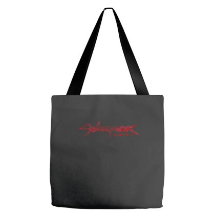 Cyberpunk 2077 Tote Bags Designed By Kiva27