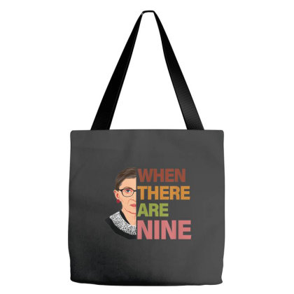 When There Are Nine Rbg Feminist Tote Bags Designed By Kakashop
