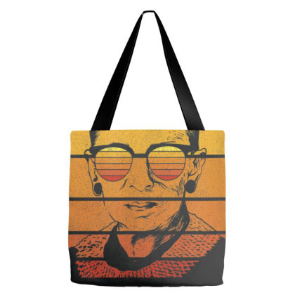 Retro Rbg Not Fragile Like A Flower Fragile Like A Bomb T Shirt Tote Bags Designed By Nhan0105