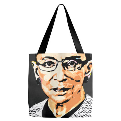 Rbg Ruth Bader Ginsburg Feminist T Shirt   Signature Art Tote Bags Designed By Nhan0105