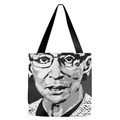 Notorious Rbg Shirt   Gold And White Design Tote Bags Designed By Nhan0105