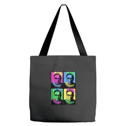 Notorious Rbg Feminist Pop Art Tote Bags Designed By Kakashop