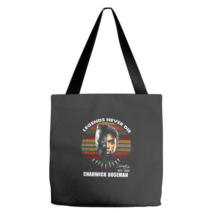 Legends Never Die Chadwick Boseman 1977 2020 Tote Bags Designed By Kakashop