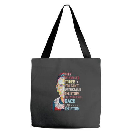 Notorious Rbg Whispered Tote Bags Designed By Kakashop