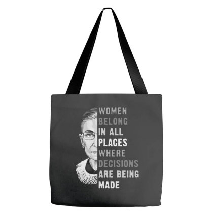 Ruth Bader Ginsburg Rbg Tote Bags Designed By Romeo And Juliet
