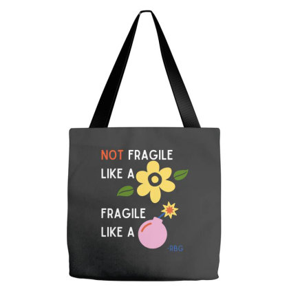 Fragile Like A Bomb   Rgb Tote Bags Designed By Romeo And Juliet