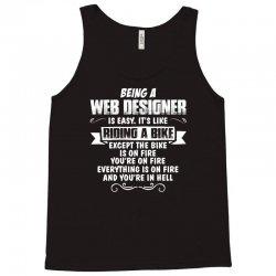 being a web designer Tank Top | Artistshot