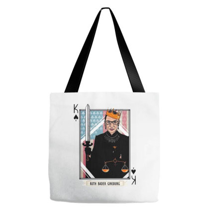 Justice Ruth Bader Ginsburg Tote Bags Designed By Romeo And Juliet