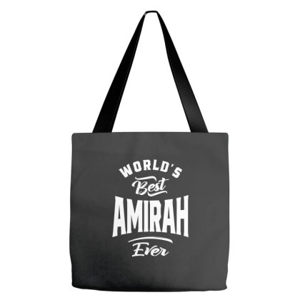 Amirah Personalized Name Birthday Gift Tote Bags Designed By Cidolopez