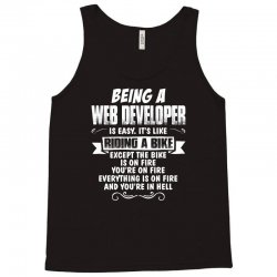 being a web developer Tank Top | Artistshot