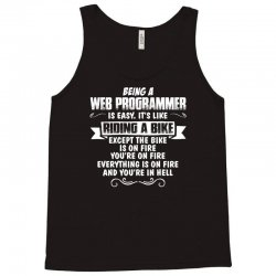 being a web programmer Tank Top | Artistshot