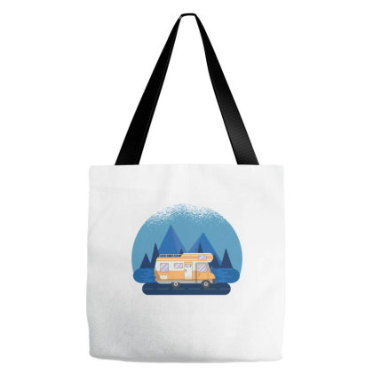 Motorhome Travel Tote Bags Designed By Zizahart