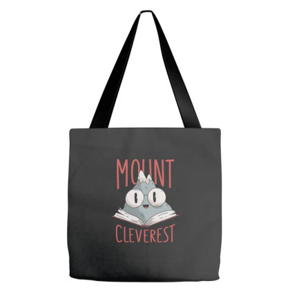 Mount Cleverest Tote Bags Designed By Zizahart