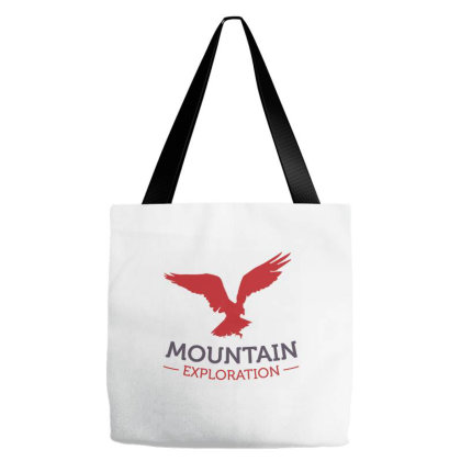 Mountain Exploration Tote Bags Designed By Zizahart