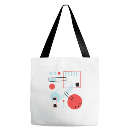 Multicolor Shapes Tote Bags Designed By Zizahart