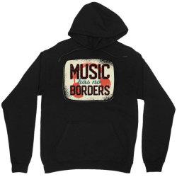 music has no borders Unisex Hoodie | Artistshot
