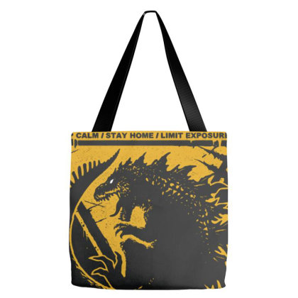 Warning Tote Bags Designed By Roderick
