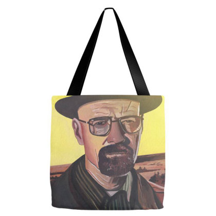 Walter White Tote Bags Designed By Roderick