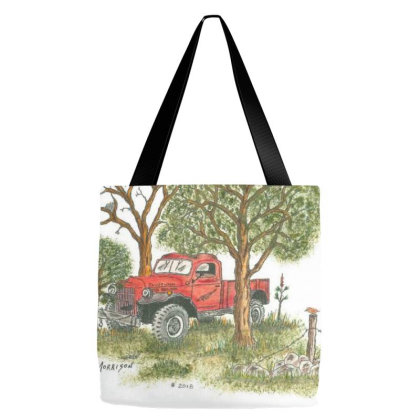 Dodge Military Style Power Wagon Tote Bags Designed By Old Mill Studio