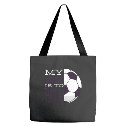 My Goal Soccer Tote Bags Designed By Zizahart