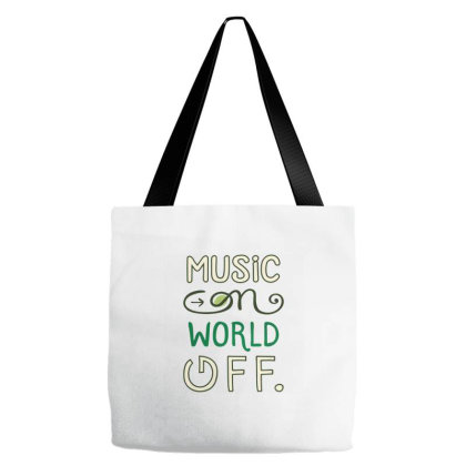 Music On Tote Bags Designed By Zizahart