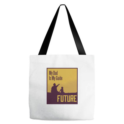 My Dad Tote Bags Designed By Zizahart