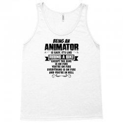 being an animator copy Tank Top   Artistshot