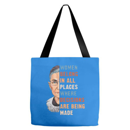 Ruth Bader Ginsburg - Rbg Tote Bags Designed By Smile 4ever