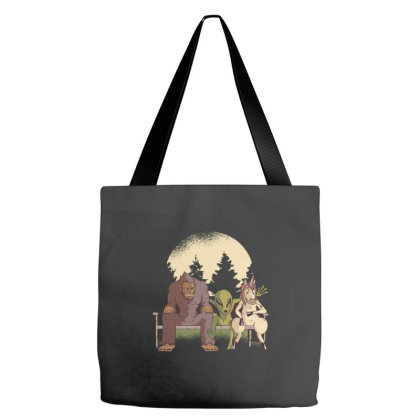 Mythological Creatures Tote Bags Designed By Zizahart