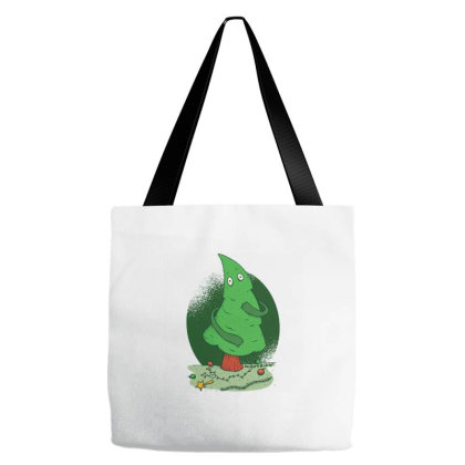 Naked Christmas Tree Tote Bags Designed By Zizahart
