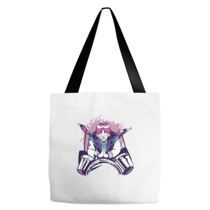 Namaste Drummer Tote Bags Designed By Zizahart