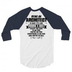 being an architect copy 3/4 Sleeve Shirt | Artistshot