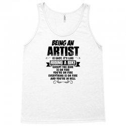 being an artist copy Tank Top | Artistshot
