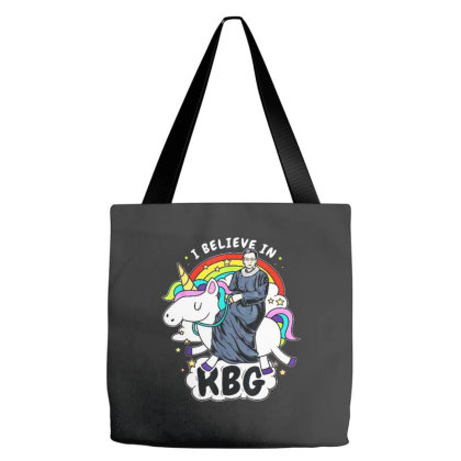 I Believe In Rbg Unicorn Feminist Tote Bags Designed By Smile 4ever