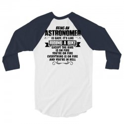 being an astronomer copy 3/4 Sleeve Shirt | Artistshot