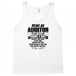 being an auditor copy Tank Top | Artistshot