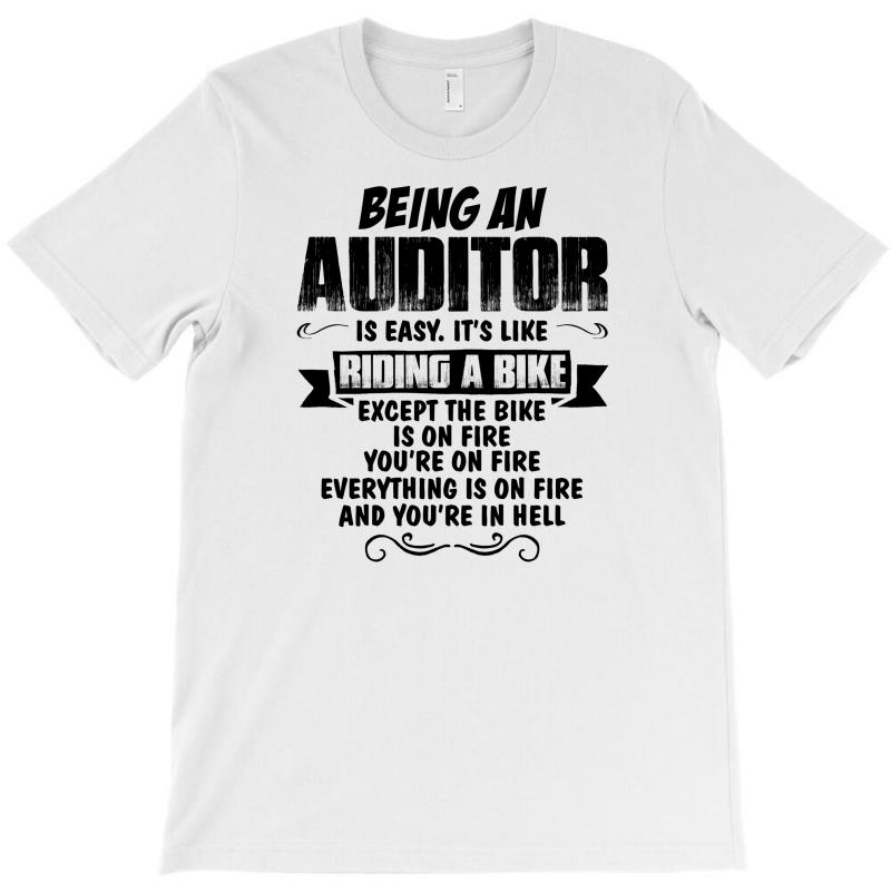 Being An Auditor Copy T-shirt | Artistshot