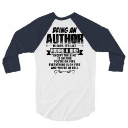 being an author copy 3/4 Sleeve Shirt | Artistshot