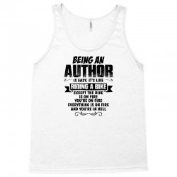 being an author copy Tank Top | Artistshot