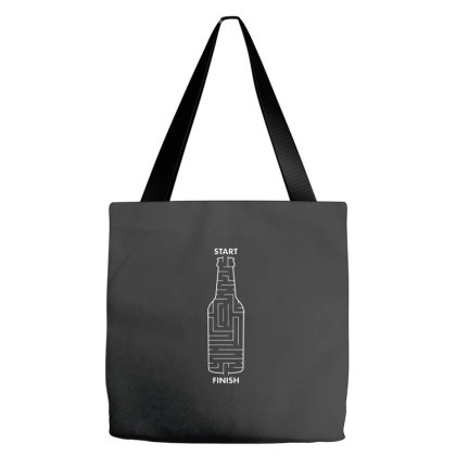 Beer Maze Tote Bags Designed By Kingsart