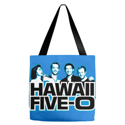 Classic Hawaii Five  O Tote Bags Designed By Tanjung Bayu