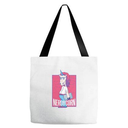 Nerd Unicorn Tote Bags Designed By Zizahart