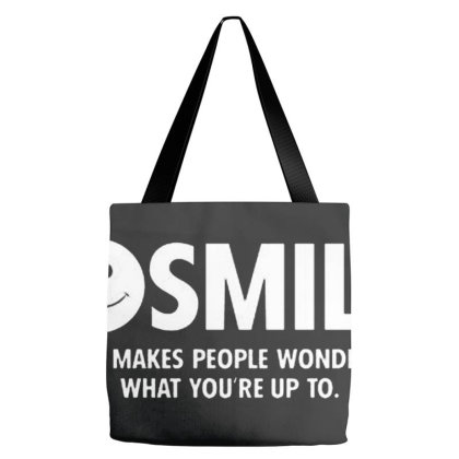 Smile Tote Bags Designed By Wethers