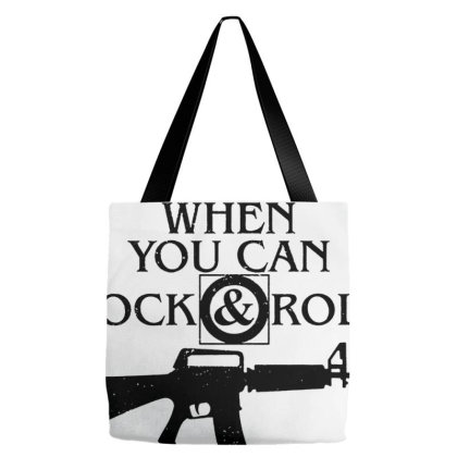 Why Waltz When You Can Rock & Roll Tote Bags Designed By Wethers