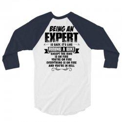 being an expert copy 3/4 Sleeve Shirt | Artistshot